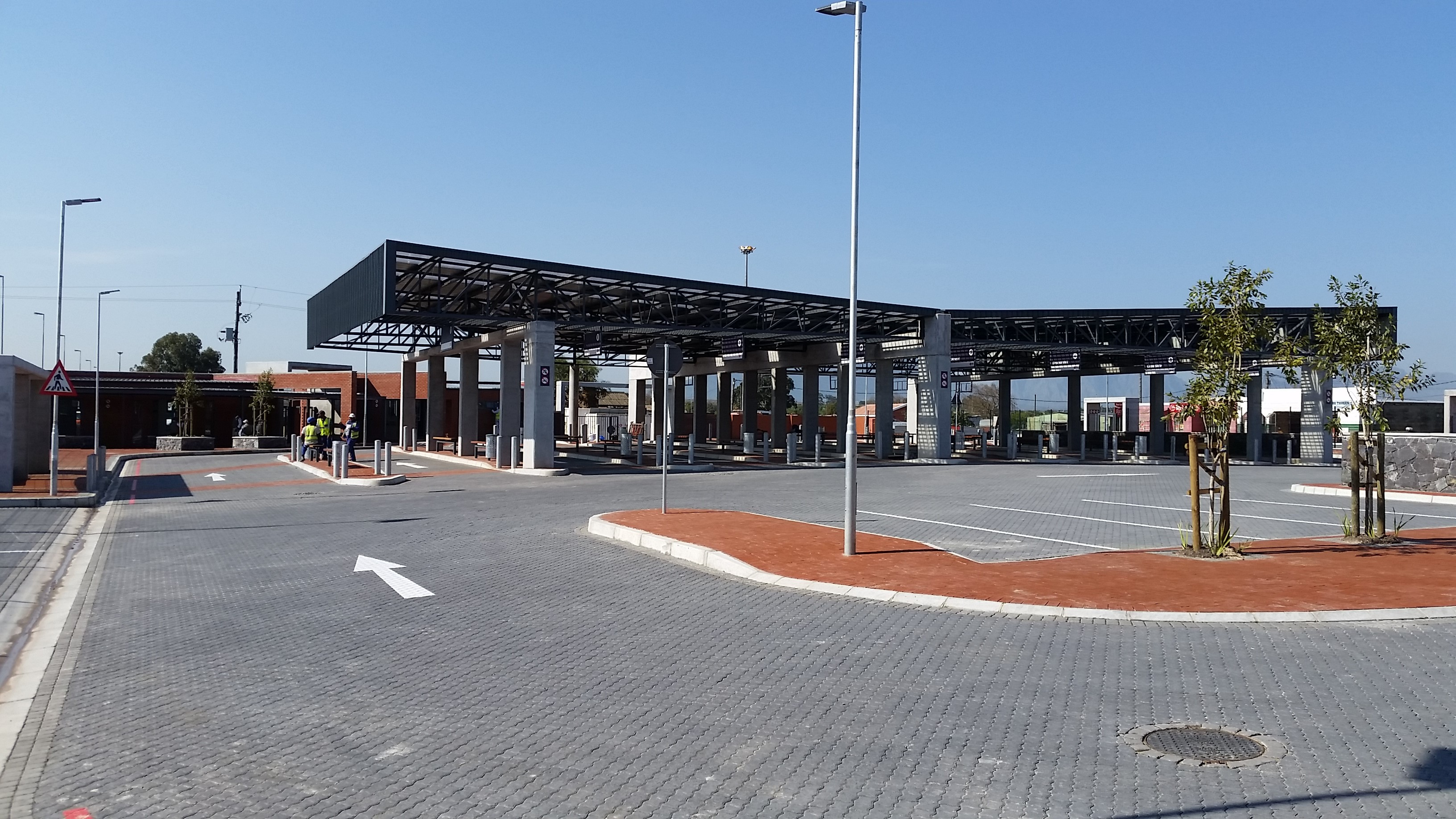 Kraaifontein Taxi Rank 20 Kw System Grid Tied With